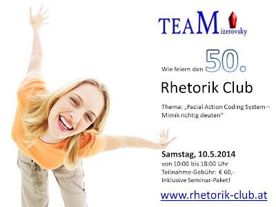 Der 50. Rhetorik Club in Wien